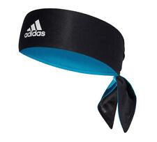 adidas Tennis Tieband Bandana Reversible Climalite Sports Headband Black DU8456