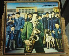 ANDY MACKAY Resolving Contradictions LP OOP late-70's art-rock Roxy Music