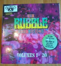The Rubble Collection - Volumes 1-20, 20 CD Box Set, Over 300 Tracks, Brand New