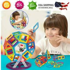 113Pc Magnetic Tiles Building Blocks Education Toys for Kids Baby Gift+container