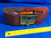 Antique Wood Box Case Viewer Glass Lens Storage Latch Slide Photo Card