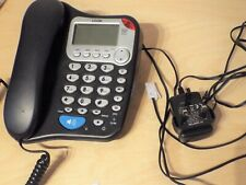 L04CTAM10 LOGIK Corded Desk Telephone, Speakerphone, Answerphone Large Buttons