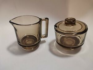 Cup Lid and Cup Handle Glass Cover Coffee Tea Brown Fidenza Italy