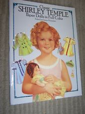 1986 Classic Shirley Temple Paper Dolls Book