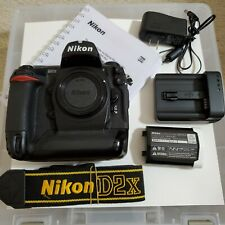 Nikon D D2X 12.4MP Digital SLR Camera, Exc. Cond., only 12,640 shutter count!
