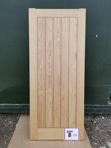 DFL1270 Howdens Dordogne Oak Veneer Prefinished FD30 2'9 Int. Flush Fire Door