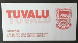 Tuvalu (1984) Handicrafts Booklet / Definitives / Traditional Skill - Mint (MNH)