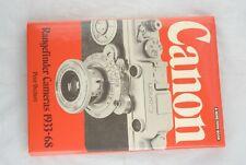 Original Canon Rangefinder Camera 1933-68 in Mint- Condition