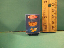 Barbie 1:6 Kitchen Food Miniature Handmade Box of Penne Pasta