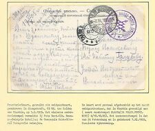 Russia covers 1905  Fieldpost PPC Russian-Japanese War  Shungchenfu