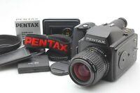 【MINT SET】 Pentax 645 Medium Format Camera & SMC A 55mm f/2.8 Lens 120 Film Back