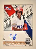2019 Elite Extra Edition Dominican Prospect League Auto #103 Emmanuel Rodriguez