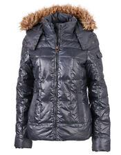 Cappotti e giacche da donna blu in pelliccia, taglia 44