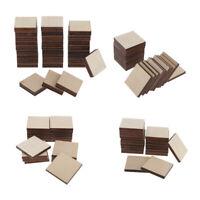Quadratische MDF Unvollendete Holzstücke Blank Plaque DIY Craft