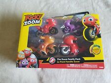 RICKY ZOOM FAMILY PACK Hank Helen Rescue Bikes & Sister Toot Motorcycle 2020 New