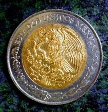 MEXICO 1994 BIMETALLIC New $5 SUN STONE CALENDAR AZTEC  'Nice Details'