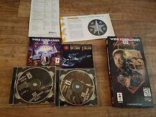 wing commander 3 3do rare long box, space flight, Mark Hamill, Panasonic, Game