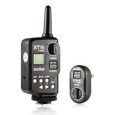 Godox XT-16 2.4G Wireless Power Control Flash Trigger Kit For Studio Lightings