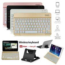 "Slim Wireless Keyboard Bluetooth For iPad 2 3 4 6th 9.7'' 7th 10.2"" Air 10.5''"