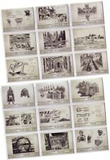 "Stargate SG-1 Season 9 (Nine) - 18 Card ""Production Sketches"" Chase Set S1-S18"