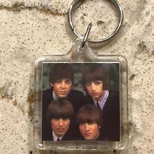 BEATLES - 1996 Members/Apple Key Ring/Keychain, OLD NEW!