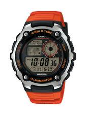 Casio Collection Herrenuhr AE-2100W-4AVEF Digital Orange