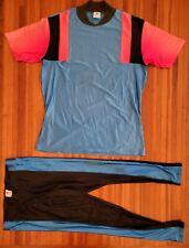 Vintage New Balance Mens Xl Cycling Shirt Pants Set Nylon Lycra X Large 80S Vtg