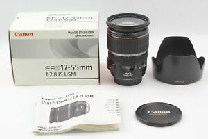 [Top MINT in Box] Canon EF-S 17-55mm F/2.8 IS USM Zoom Lens From JAPAN