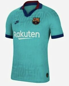 AR9343-310 Nike 2019-20 FC Barcelona Men's Authentic Third Jersey Size S $165