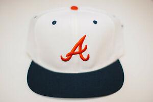 Atlanta Braves MLB New Era wool blend new vintage snapback NWT