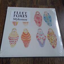 """FLEET FOXES - MYKONOS 7"""" 2009 STILL SEALED BELLA UNION MINT"""