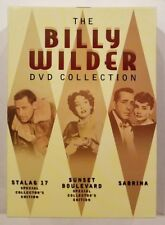 The Billy Wilder Collection (DVD, 2006, 3-Disc Set). Stalag 17. Very Good.