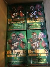 1995 Classic Draft Football Box 3 box lot fresh from case