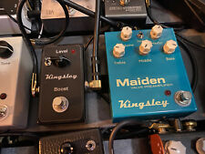 Kingsley Maiden D Preamp Pedal w/EQ Lift Boost 2018