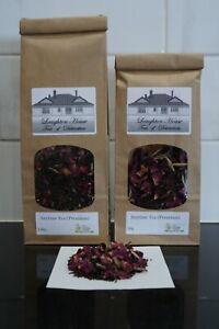 Laughton House  Anytime Tea - Assam Black Tea, Vanilla Bean, Silver Needle, Rose