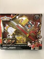 Power Rangers Megaforce Dragon Sword And Phoenix Shot Battle Set New Old Stock