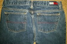 RARE Womems Tommy Hilfiger RED WHITE blue rhinestone detail jeans 11 July 4 😍❤