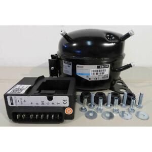 Compressor BD35F 101Z0200 Secop Danfoss R134a 12/24V DC + Electronic Unit
