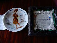 Henri D'Arceau Limoges Helene Decorative Porcelain Collector Plate