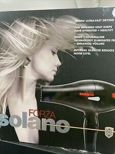 Solano Forza 2000Watt Ultra-Fast Drying Ceramic Hair Dryer Made In Italy 2020