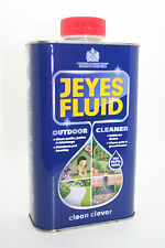 JEYES FLUID MULTI-PURPOSE DISINFECTANT 1 LITRE OUTDOOR CLEANING UNBLOCKS DRAINS