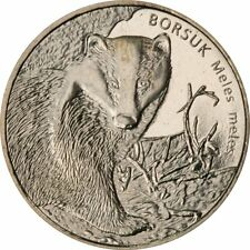 2 zl POLEN 2011  Animals of the World – European Badger (Meles meles) i