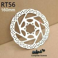 RT56 160mm Cycling Bicycle Metal Disc Brake Rotor 6 Bolts For MTB Mountain Bike