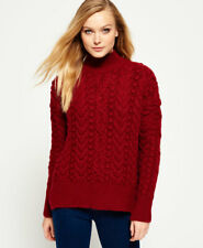 Superdry Womens Kiki Cable Knit Jumper