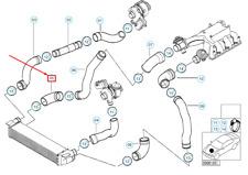 Manguera de aire fuelle masas de aire cuchillo bmw e46 e39 manguera de entrada de 13541435625