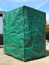 More details for pallet cover tarpaulin tarp 140gsm waterproof fitted reusable cover pallets