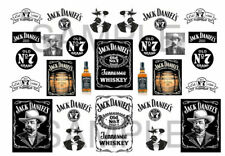 1/64 whiskey  WATER-SLIDE DECALS FOR HOT WHEELS, MATCHBOX, SLOT CAR: