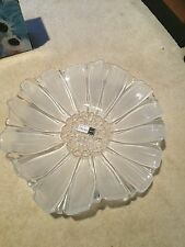 CRYSTAL MIKASA SERVING BOWL / CENTREPIECE. GLASS BOWL