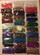 HUGE Lot Jewelry Making Spacers Beads Caps Charms Pendants 10 lbs Lot 307