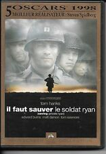 2 DVD ZONE 2 COLLECTOR--IL FAUT SAUVER LE SOLDAT RYAN--HANKS/SPIELBERG/DAMON